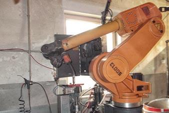 Schweißroboter Romat 410